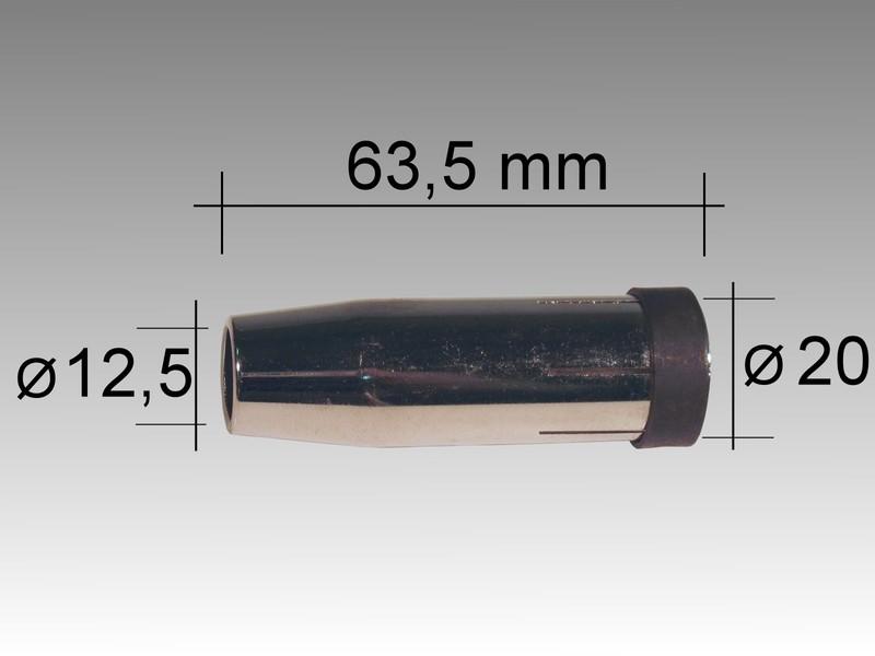 Газовый наконечечник LMM 240 D 12,5/63,5 мм
