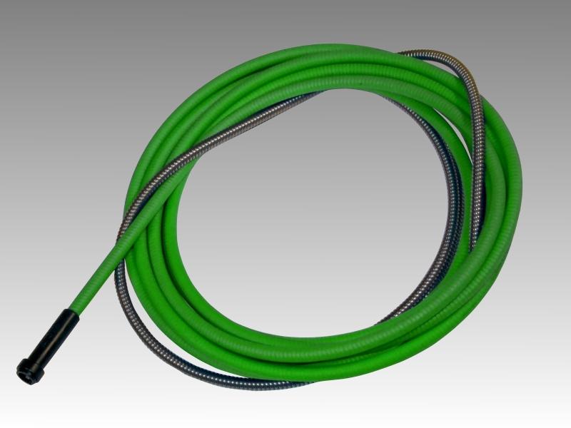 Канал стальной 4м (2,0-2,4мм) 3,0/5,0 зеленый