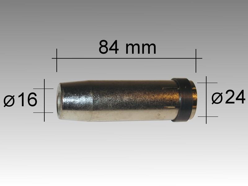 Газовый наконечечник LMM 360 D 16,0/84,0 мм