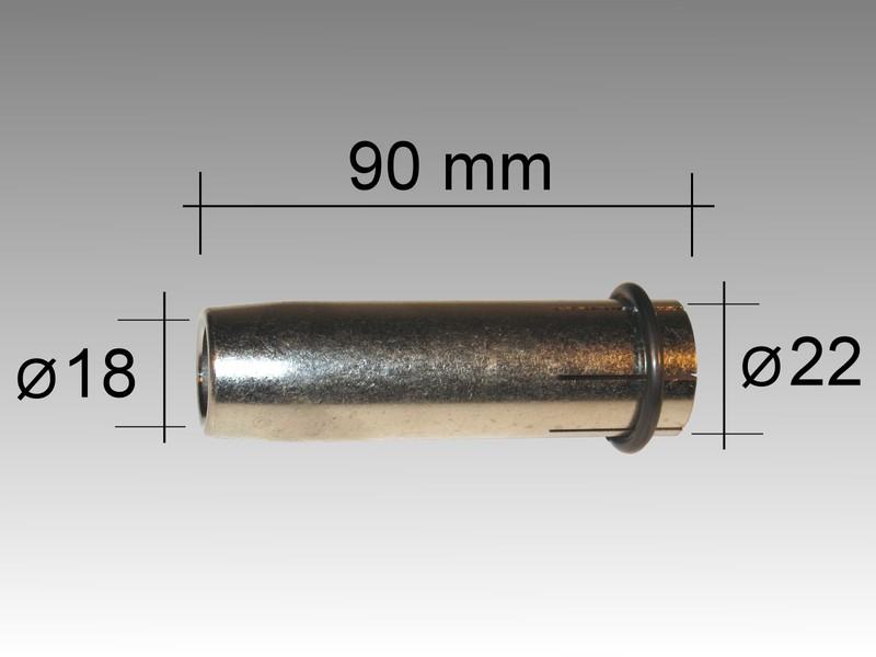 Газовый наконечечник LMM 360 D 19,0/84,0 мм