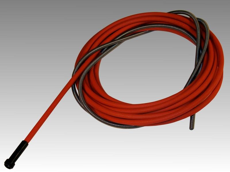 Канал стальной 5м (1,0-1,2мм) 2,0/4,5 красный