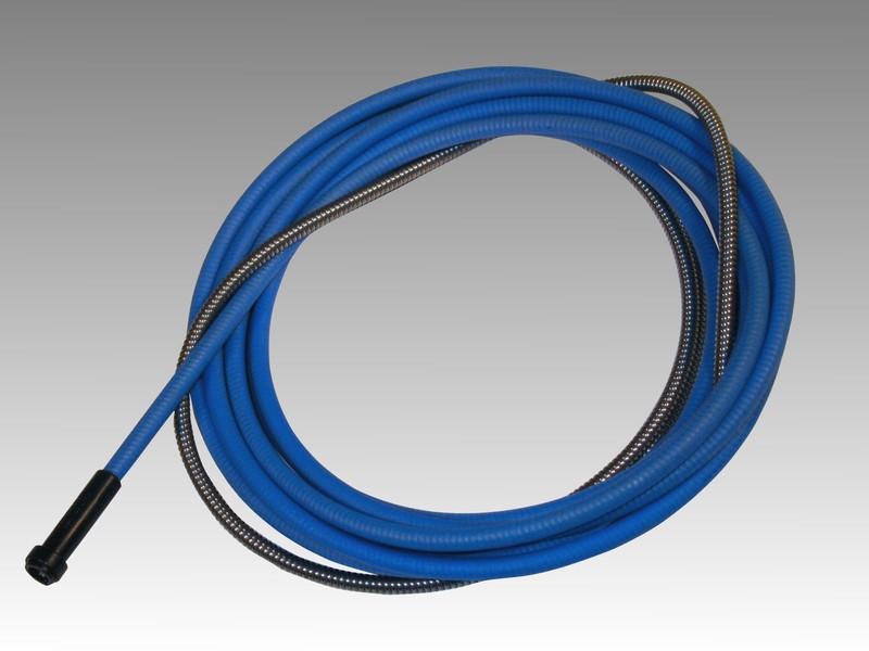 Канал стальной 3м (0,6-0,8-1,0мм) 1,5/4,5 голубой